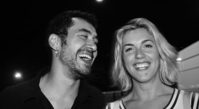 Mariona Ardébol y Pablo Álvarez