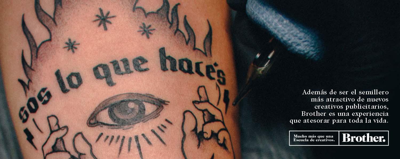 Tattoo Web Banner Brother Escuela de creativos