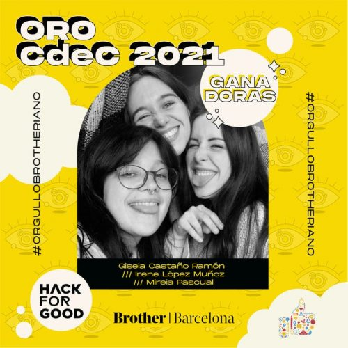 ganadoras cdec brother oro hack for good