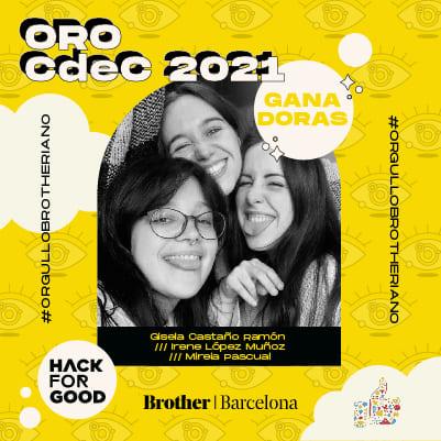 Ganadoras CdeC 2021 Brother Orgullo