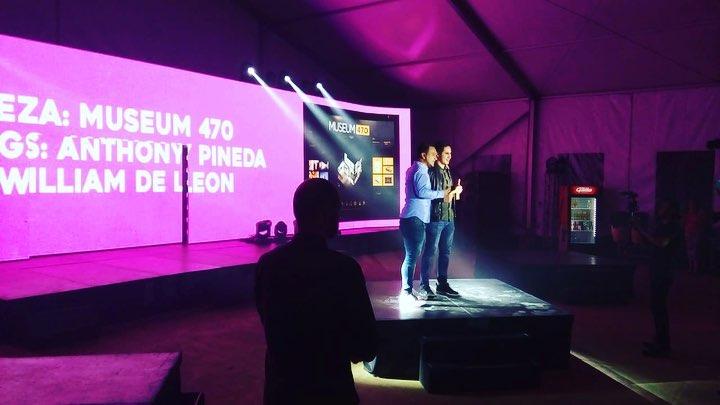 Ganadores de «Young Creatives» en Festival Antigua 2018