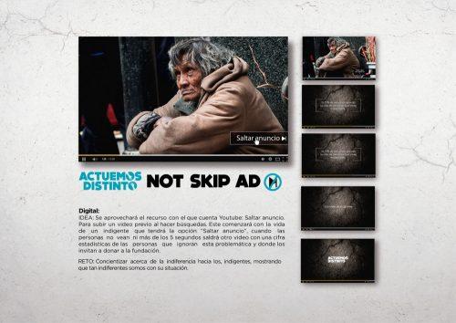 not skip ad